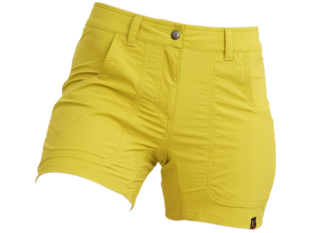 Wild Country Mission Shorts Women kamille yellow
